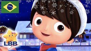 Desenho para Bebe | Patinando No Gelo | Canções para Crianças | Little Baby Bum Júnior