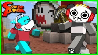 Minecraft NOOB VS. PRO Let's Play with Combo Panda