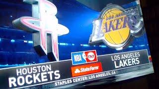 Karceno Rockets vs Lakers Live Breakdown