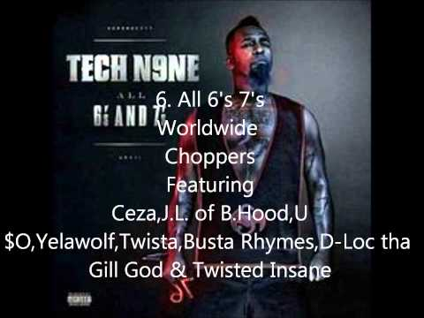 Top 10 Tech N9ne Songs