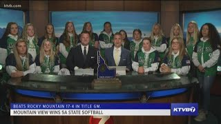 Sunday Sports Extra: Mountain View Mavericks softball