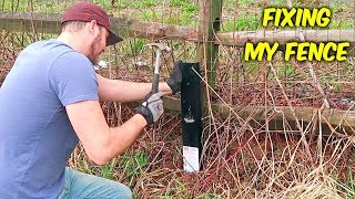 Fixing Leaning Fence Easiest Way