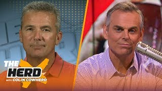 Urban Meyer: Alabama and Georgia are Top 2 teams in SEC, talks Jim Harbaugh & more | CFB | THE HERD