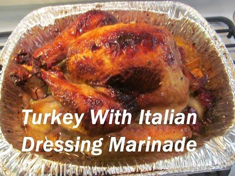 Thanksgiving Turkey with Italian Dressing Marinade /  الديك الرومي لعيد الشكر/ #Recipe180CFF thumbnail