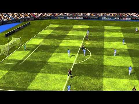 FIFA 14 Android - FC Barcelona VS Málaga CF