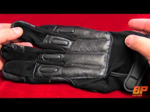 SAP Elite Leather Full-Finger Gloves