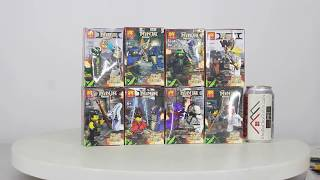 Mở hộp Lele 31089 Lego NinJaGo MOC The Battle Between Snake Tribe and Ninjas giá sốc rẻ nhất