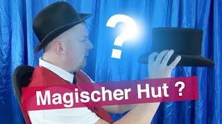 Zaubertricks Video 2 - Der Magische Zauberhut der Kinderzauberei