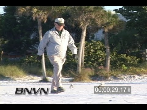 10/24/2006 Sarasota, FL Siesta Key Cold Beach Video