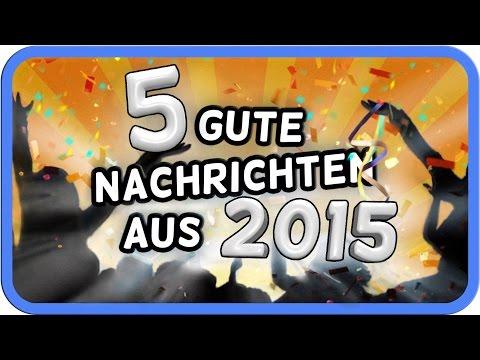 5 gute Nachrichten aus 2015