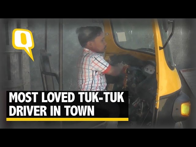The Quint: Meet the Most Loved Tuk Tuk Driver of Gujarat