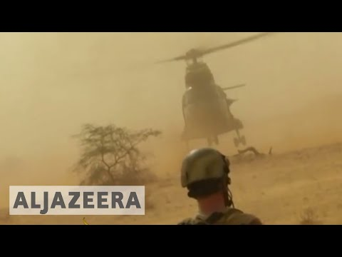 Macron calls for Sahel force against armed groups