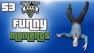 GTA 5 Next Gen Funny Moments Ep. 53 (Droidd Pooing, New Home, Flying Glitch & Tutorial!)