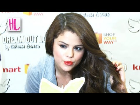 Selena Gomez Kisses Little Girl At Birthday Party With Fans video