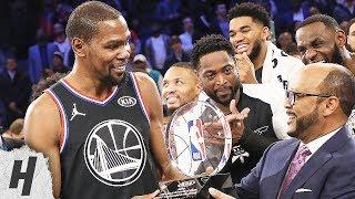 Kevin Durant MVP Trophy Presentation | February 17, 2019 NBA All-Star Game