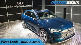 Audi e-tron First Look - India Launch Soon | MotorBeam