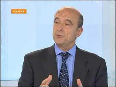 FRANCE24 - EN - POLITICS: ALAIN JUPPE