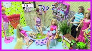Phòng Spa Của Barbie (Tập 2) Bác Sĩ Barbie  Đi Spa - Trứng Nở Hatchimal Mini /