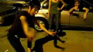 MATT & KIM MILWAUKEE PARKING LOT DANCE PARTY PT 1