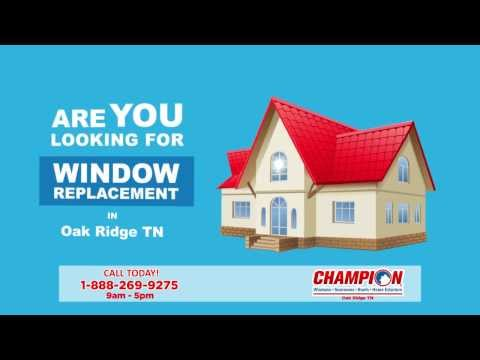 Window Replacement Oak Ridge TN. Call 1-888-269-9275 9am - 5pm M-F | Home Windows