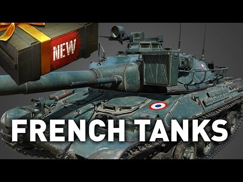 World of Tanks || NEW FRENCH TANKS