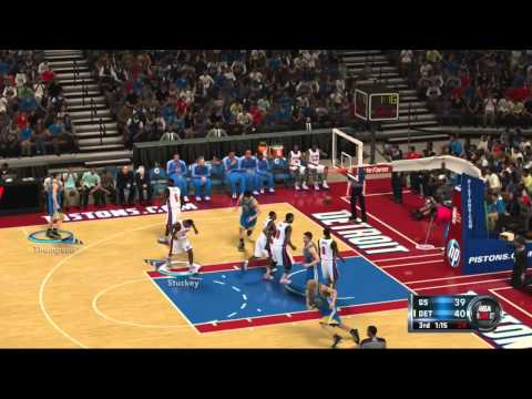 NBA 2k12: EPIC GHOST vs. JAKE BATTLE!! (Xbox 360/PS3 Gameplay)