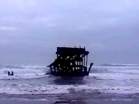 Shipwreck at Oregon Coast