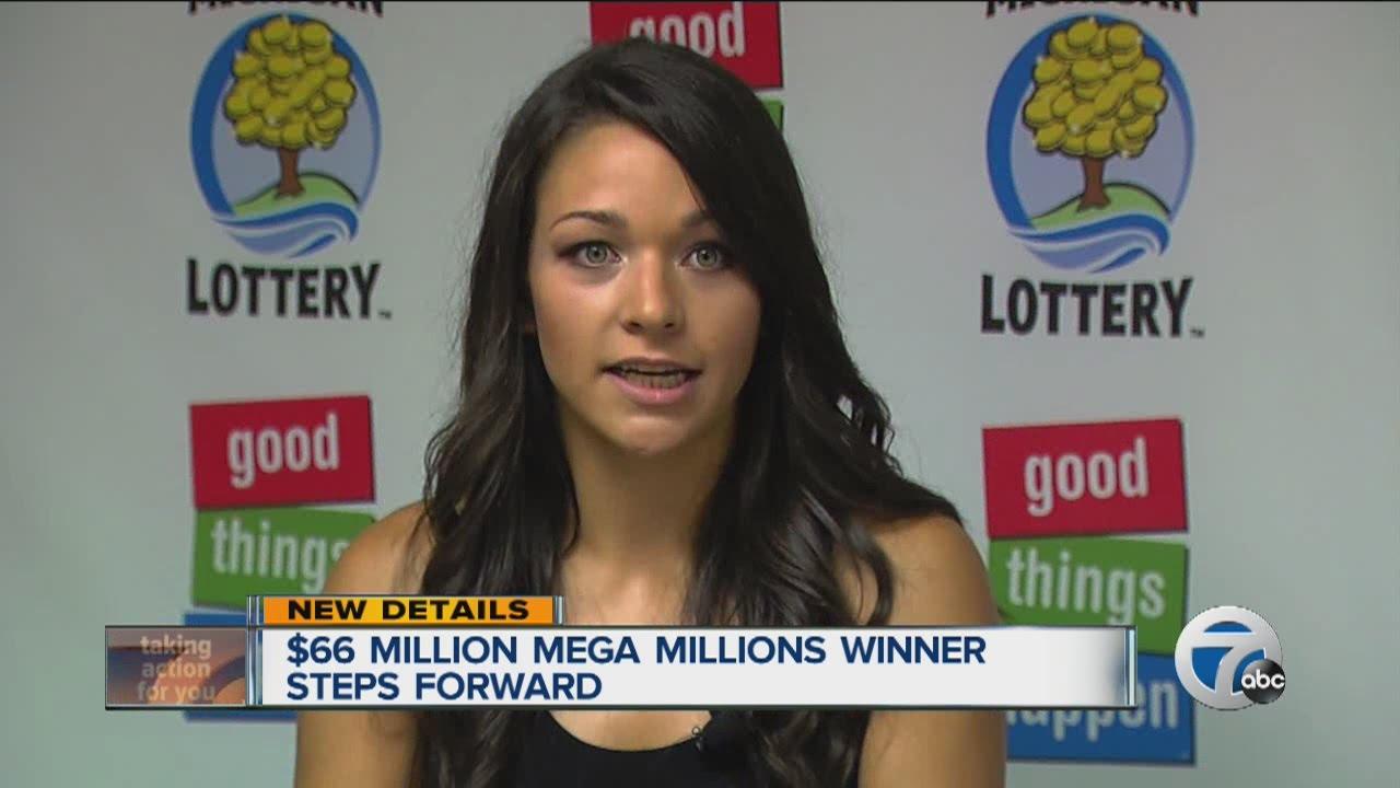 $66 million Mega Millions winner steps forward - YouTube