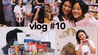 10,000 PESO BACK TO SCHOOL GIVEAWAY (CLOSED) + Aivee Skin Day | Hannah Kathleen | Vlog #10