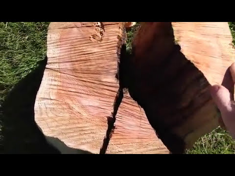 Flash powder log splitting