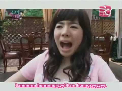 SNSD Members Can't Stand Sunny's Aegyo ^-^ [eng]