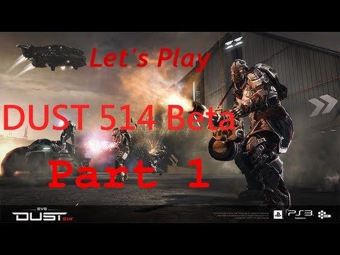 Let's Play DUST 514 Beta [German/Blind/HD] Part 1