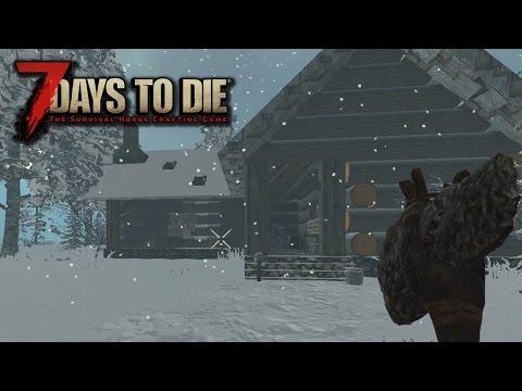 7 Days To Die Alpha15 #1 - С ТРУДОМ НАШЕЛ ДОМ!