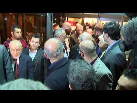 Mesut Yılmaz, Oğlunun Cenazesinin Bulunduğu Hastaneye Geldi