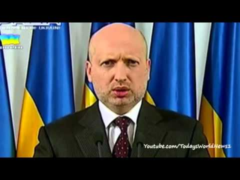 Ukraine crisis: Turchynov announces anti-terror operation
