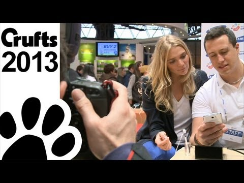 Jodie Kidd at Crufts 2013