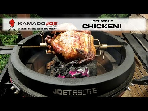 Kamado Joe JOETISSERIE Chicken!