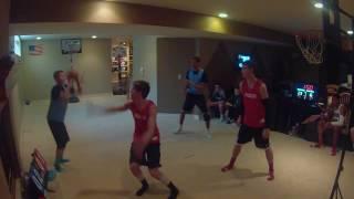 Basement Basketball League (Mackers Vs. Chappers)