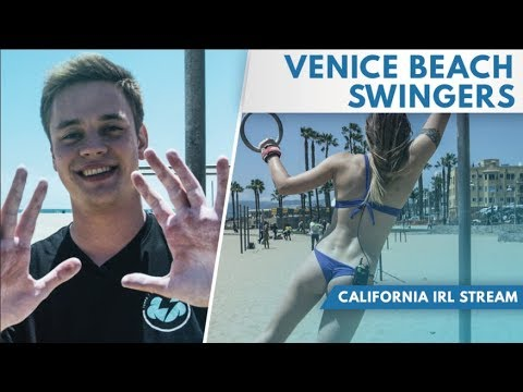 Venice Beach Swingers [IRL STREAM HIGHLIGHTS]