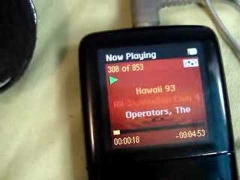 What's on my mp3 player