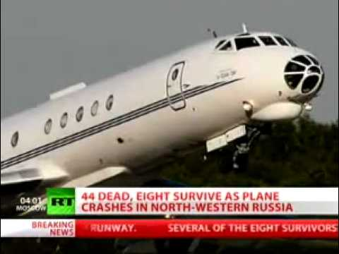 Tai nạn máy bay ở Nga.flv