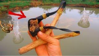 Chế Tạo Chạng Ná SĂN BƯỚM ĐÊM Chất Lượng Quốc Tế .Chặng Ná Bắn Chim Sinh Tồn.Slingshot Hunting Birds