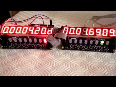 Arduino and a TM1638 module - Arduino Learning