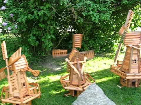 Wyroby z drewna do ogrodu allegro