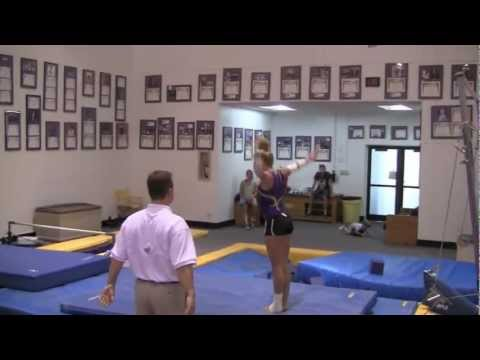 LSU Gymnastics&#039; 1st Intrasquad Highlights