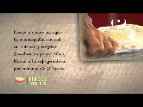 Dulces secretos - Cachitos de hojaldre