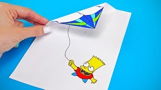 DRAWING HACKS AND FUNNY CRAFTS TO TRY WITH YOUR FAMILY