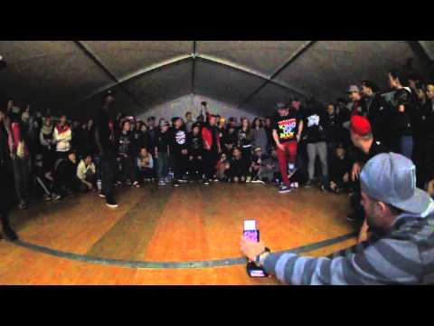 SDK EUROPE 2014 | KRUMP BATTLE | Slam & Ugly Fate vs B-Dash & Liveness