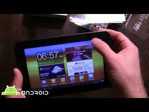 Samsung Galaxy Tab 7.0 Plus (WiFi) Unboxing and Initial Hands On Review