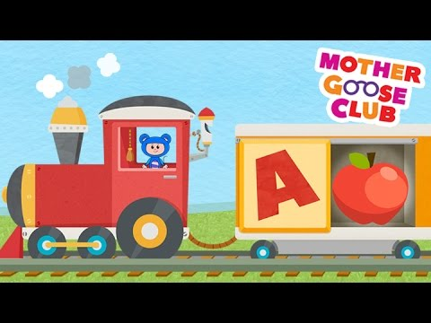 Alphabet Train Food Train - Mother Goose Club Rhymes For Kids video